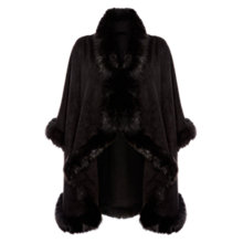 Buy Coast Kate-Lynn Cape, Black Online at johnlewis.com