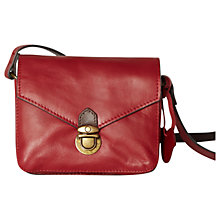 Buy White Stuff Clarissa Cross Body Bag, Mongolian Red Online at johnlewis.com