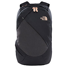 Buy The North Face Electra Women's Backpack, Black/Gold Online at johnlewis.com