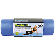 "Buy Yoga-Mad 6"" Massage Foam Roller, Blue Online at johnlewis.com"