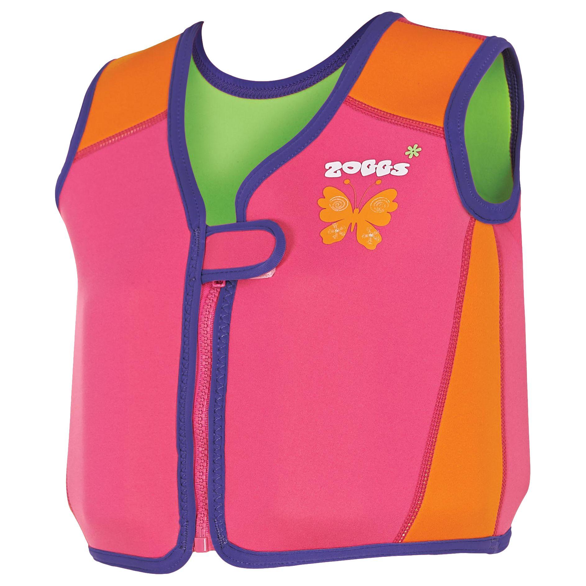 Zoggs Zoggs Bobin Swim Jacket, Pink