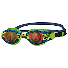Buy Zoggs Sea Demon Junior Swimming Goggles, Green/Blue Online at johnlewis.com