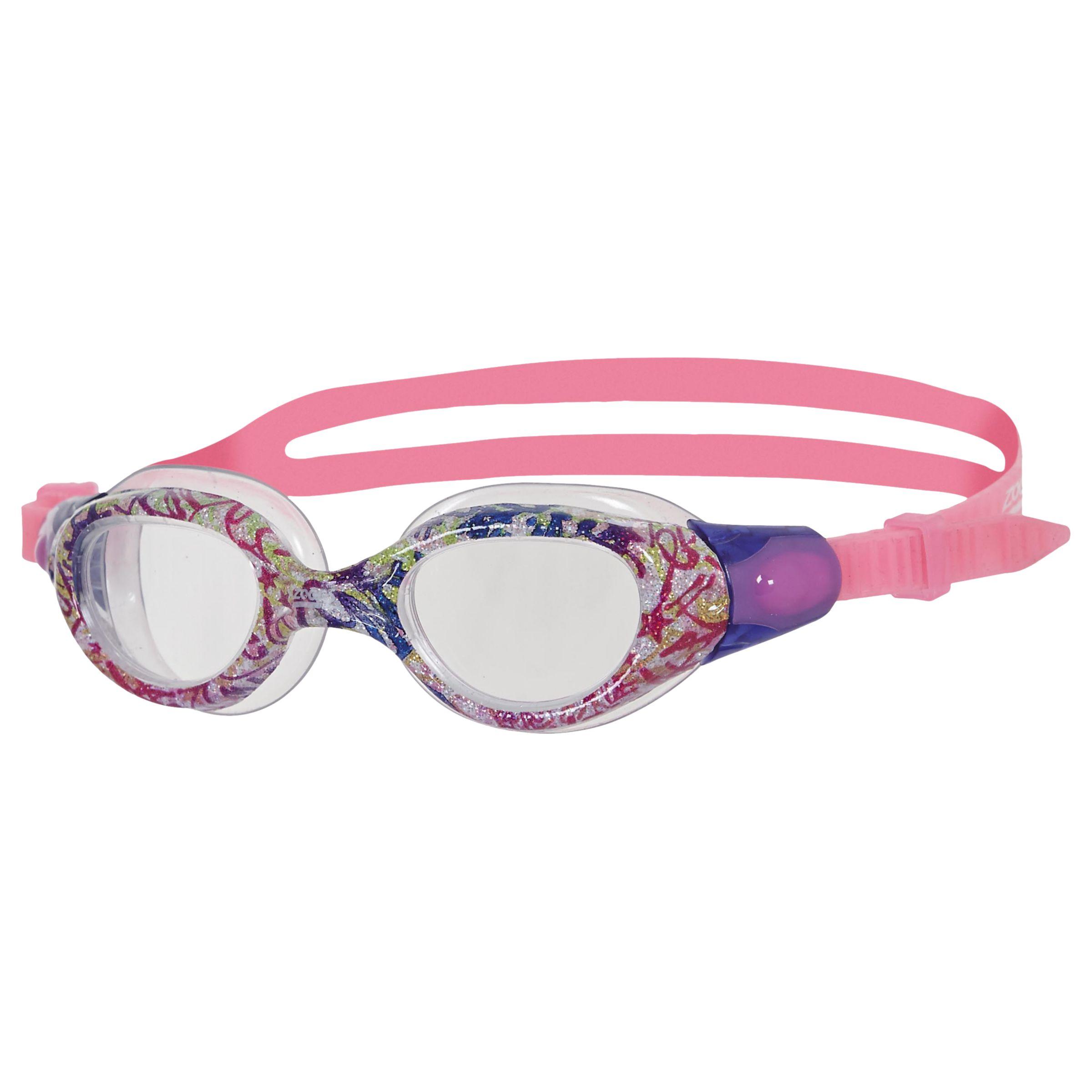Zoggs Zoggs Little Comet Junior Swimming Goggles, Pink/Purple