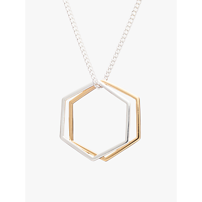 Rachel Jackson London Hexagon Rings Necklace