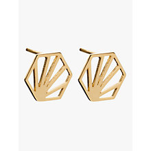 Buy Rachel Jackson London Small Hexagon Stud Earrings Online at johnlewis.com