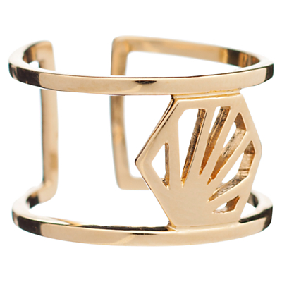 Rachel Jackson London Hexagon Wrap Ring
