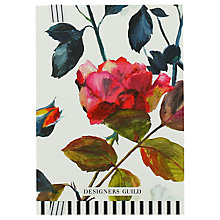 Buy Designers Guild Couture Rose A5 Notebook Online at johnlewis.com