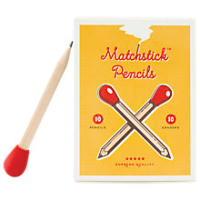 Buy Luckies Matchstick Pencils Online at johnlewis.com