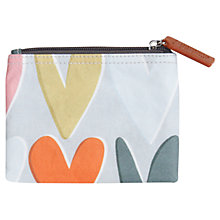 Buy Caroline Gardner Hearts Coin Purse, Grey Online at johnlewis.com