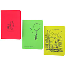 Buy Winnie The Pooh Journals, Set of 3 Online at johnlewis.com
