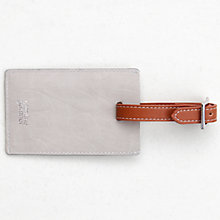 Buy Caroline Gardner Hearts Luggage Tag, Silver Online at johnlewis.com
