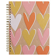 Buy Caroline Gardner Kraft Hearts Sketch Book Online at johnlewis.com