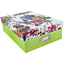 Buy Designers Guild Couture Rose A4 Storage Box Online at johnlewis.com