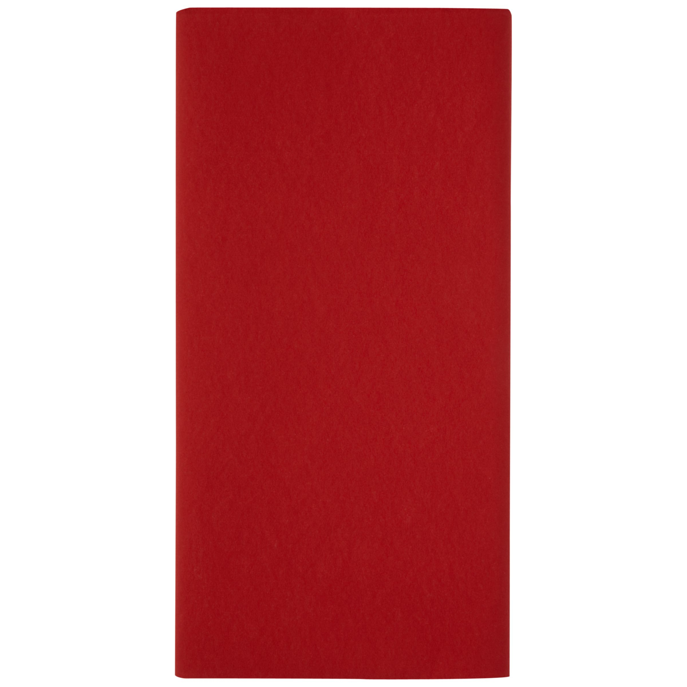 Duni Duni Tablecover 125 x 180cm, Red