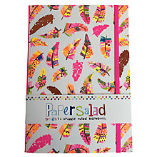Buy Paper Salad A5 Feather Ruled Notebook Online at johnlewis.com