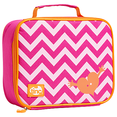 Image of Tinc Geometric Lunchbox, Pink / Orange
