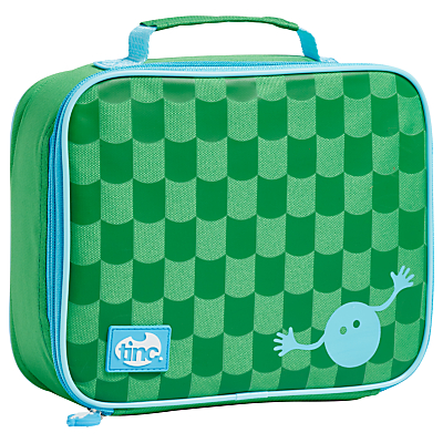 Image of Tinc Geometric Lunchbox, Green / Blue
