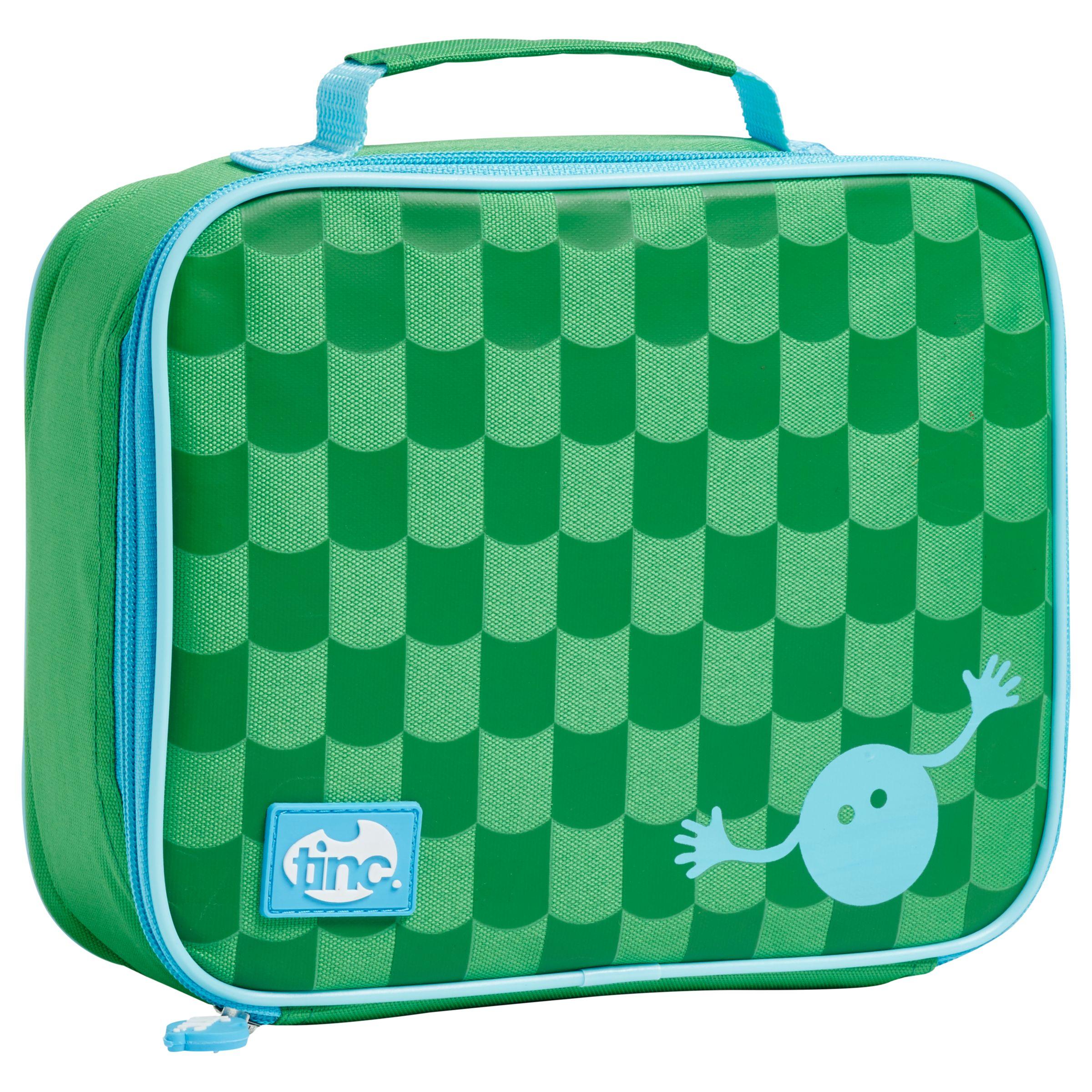 Tinc Tinc Geometric Lunchbox, Green / Blue