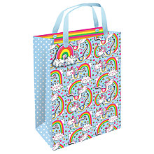 Buy Rachel Ellen Unicorn Gift Bag, Medium Online at johnlewis.com