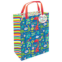 Buy Rachel Ellen Dinosaur Gift Bag, Medium Online at johnlewis.com