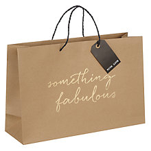 Buy Belly Button Designs Something Fabulous Shopper Gift Bag, Medium Online at johnlewis.com