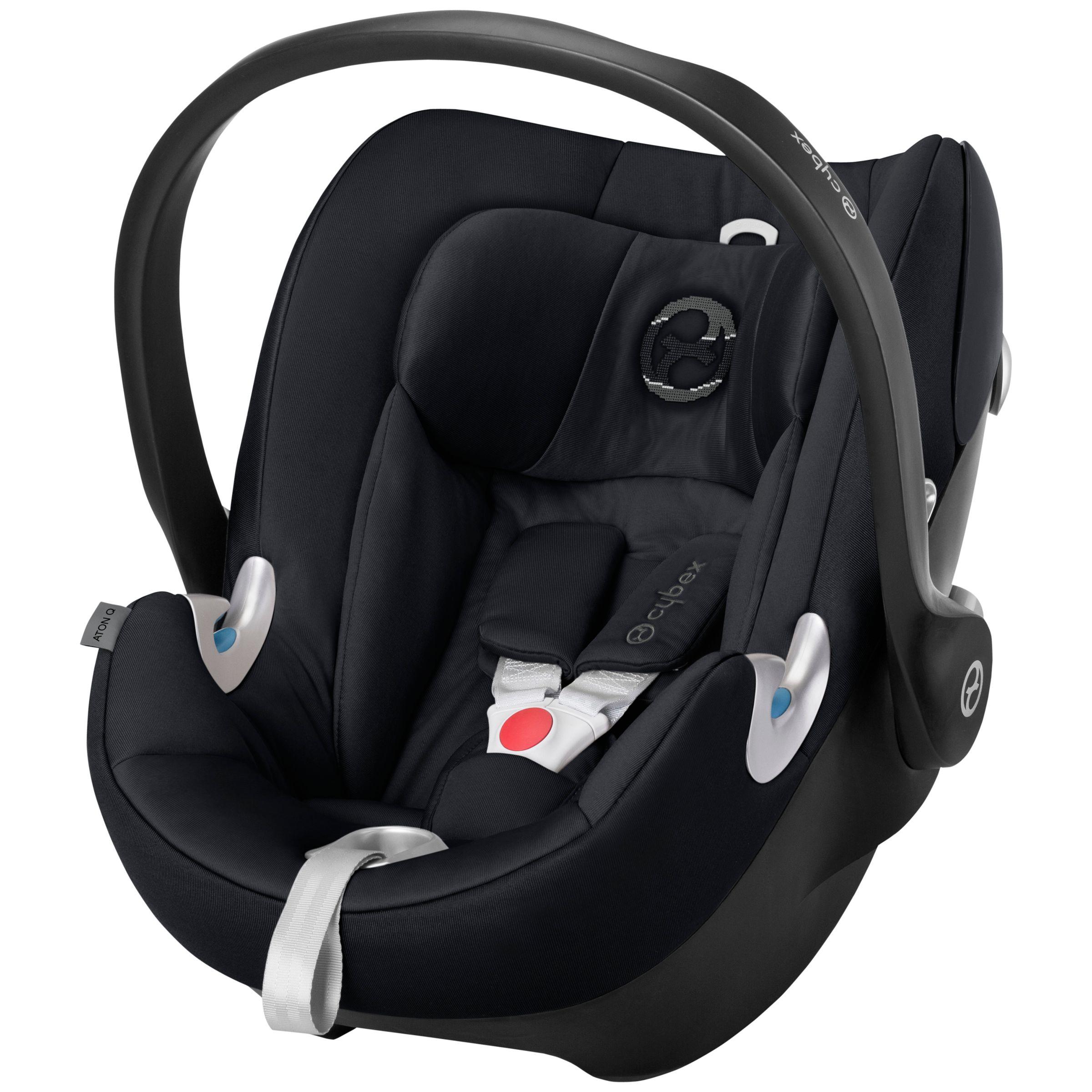 Cybex Cybex Aton Q Group 0+ Baby Car Seat, Stardust Black