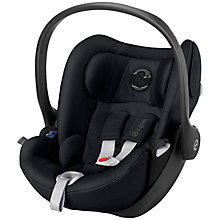 Buy Cybex Cloud Q Group 0+ Baby Car Seat, Stardust Black Online at johnlewis.com