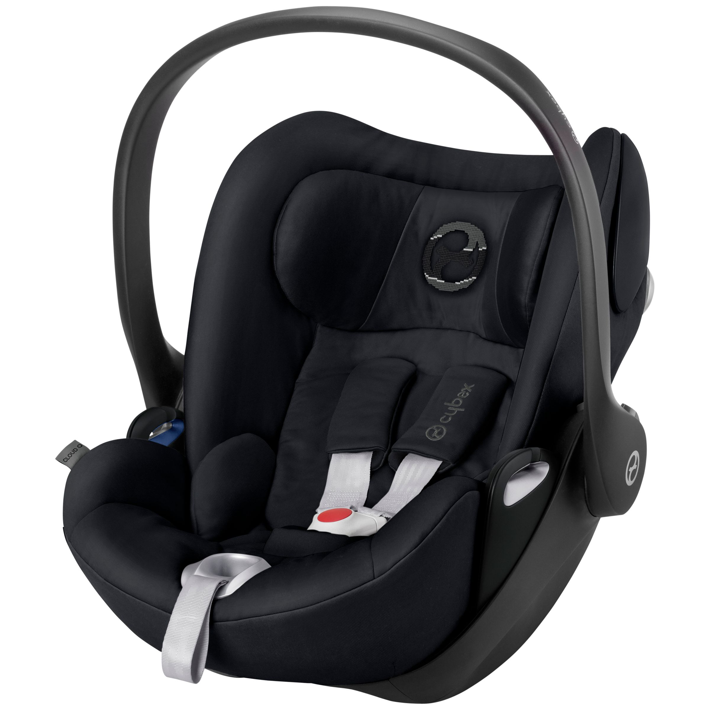 Cybex Cybex Cloud Q Group 0+ Baby Car Seat, Stardust Black