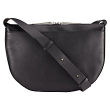 Buy Jigsaw Lua Across Body Bag, Black Online at johnlewis.com