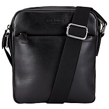 Buy Ted Baker Tinecor Flight Bag, Black Online at johnlewis.com