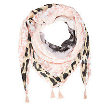 Buy Oui Tropical Safari Print Scarf, Multi Online at johnlewis.com
