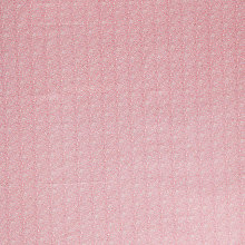 Buy John Lewis Small Dotty Floral Print Fabric, Pink Online at johnlewis.com