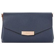 Buy Dune Exie Clutch Bag, Navy Online at johnlewis.com