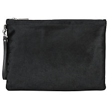 Buy Hobbs Liv Clutch Bag, Black Online at johnlewis.com