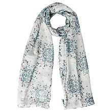 Buy White Stuff Artisan Check Scarf, Multi Online at johnlewis.com