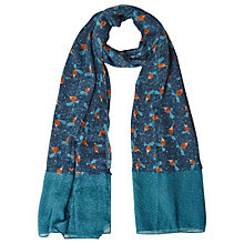 Buy White Stuff Little Feast Scarf, Teal Online at johnlewis.com