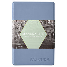 Buy Manuka Life Eco Yoga Block, Blue/Grey Online at johnlewis.com