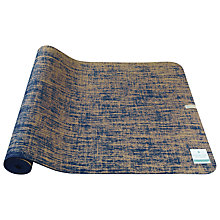 Buy Manuka Life Linen Yoga Mat, Purple Online at johnlewis.com
