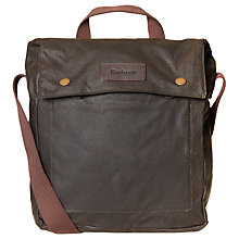 Buy Barbour Waxcot Balloch Flight Bag, Olive Online at johnlewis.com