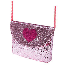 Buy Rockahula Girls' Glitter Bag, Pink Online at johnlewis.com