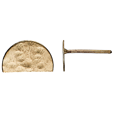 People Tree Semi Circle Earrings, Gold