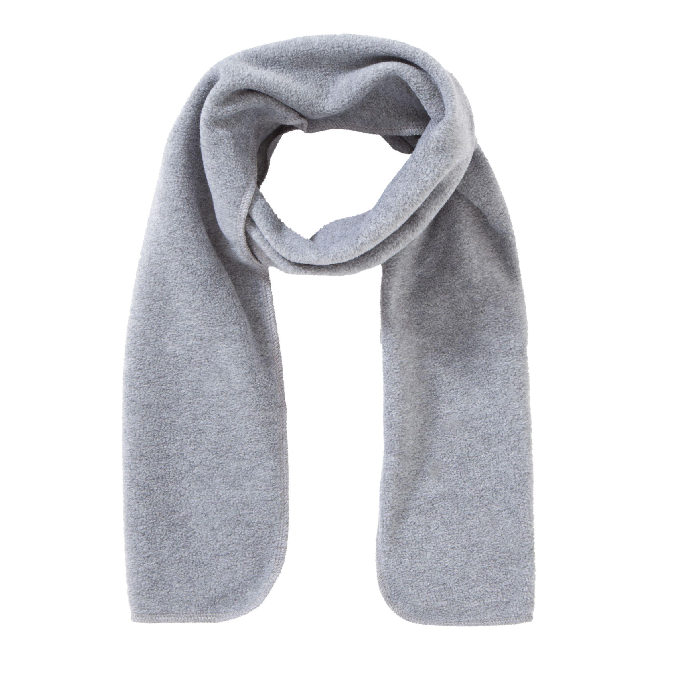 Unbranded School Fleece Scarf, One Size, Grey