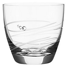 Buy Dartington Crystal Rhumba Votive / Tealight Holder, Clear Online at johnlewis.com