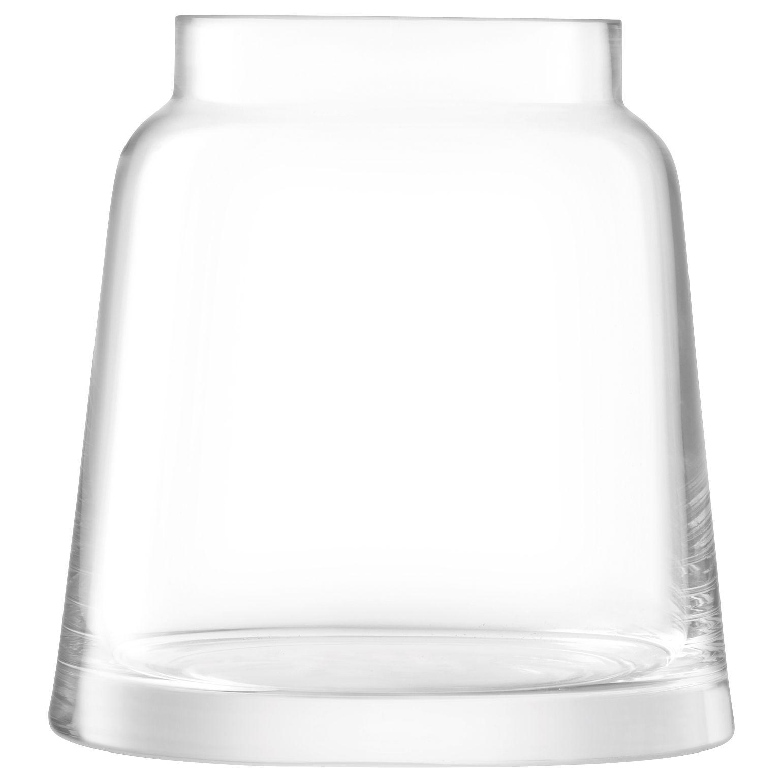 LSA International LSA International Chimney Vase, H17.5cm, Clear