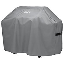 Buy Weber® Genesis II 3 Burner BBQ Cover, Black Online at johnlewis.com