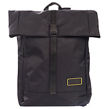 Buy Barbour International Grid Backpack, Black Online at johnlewis.com