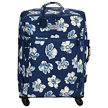 Buy Cath Kidston Scattered Anemone 66cm 4-Wheel Suitcase, Navy Online at johnlewis.com