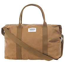 Buy Barbour Dry Wax Cotton Dromond Holdall, Sand Online at johnlewis.com