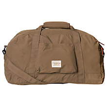 Buy Barbour Banchory Nylon Holdall, Khaki Online at johnlewis.com