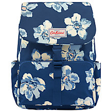 Buy Cath Kidston Scattered Anemone Backpack, Navy Online at johnlewis.com